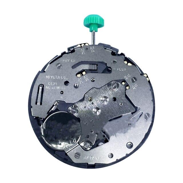 交換 OS21 クオーツ時計のムーブメントのための 6 で日御代田 OS21 ムーブメント修理部品クォーツ腕時計