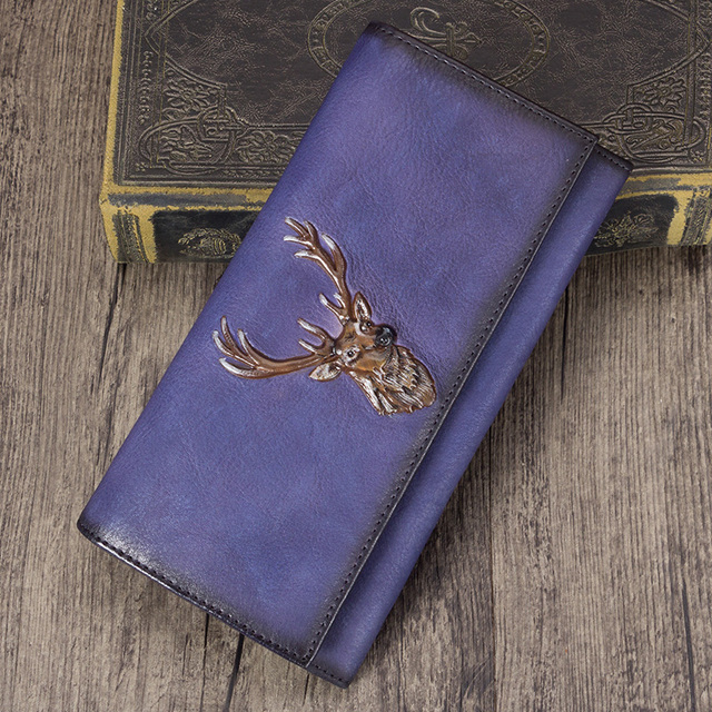 Women's Retro Leather Wallet