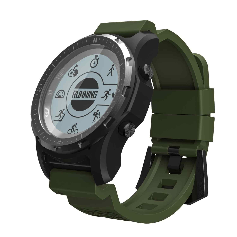 GPS S966สมาร์ทนาฬิกาผู้ชายHeart Rate MonitorกีฬาฟิตเนสTrackerบลูทูธเข็มทิศความสูงSport Smartwatch