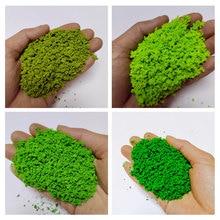 30 G/zak Simulatie Boom Poeder Model Toy Army Green Ho Trein Building Miniatuur Diy Scene Maken Materiaal Groene Plant Getuft