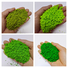 30g/bag Simulation Tree Powder Model Toy Army Green HO Train Building Miniature DIY Scene Making Material Green Plant Tufted