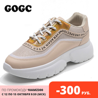 GOGC womens spring shoes women flats shoes sneakers women shoes for women Casual Vulcanize Shoes Women Platform Chunky Sneakers