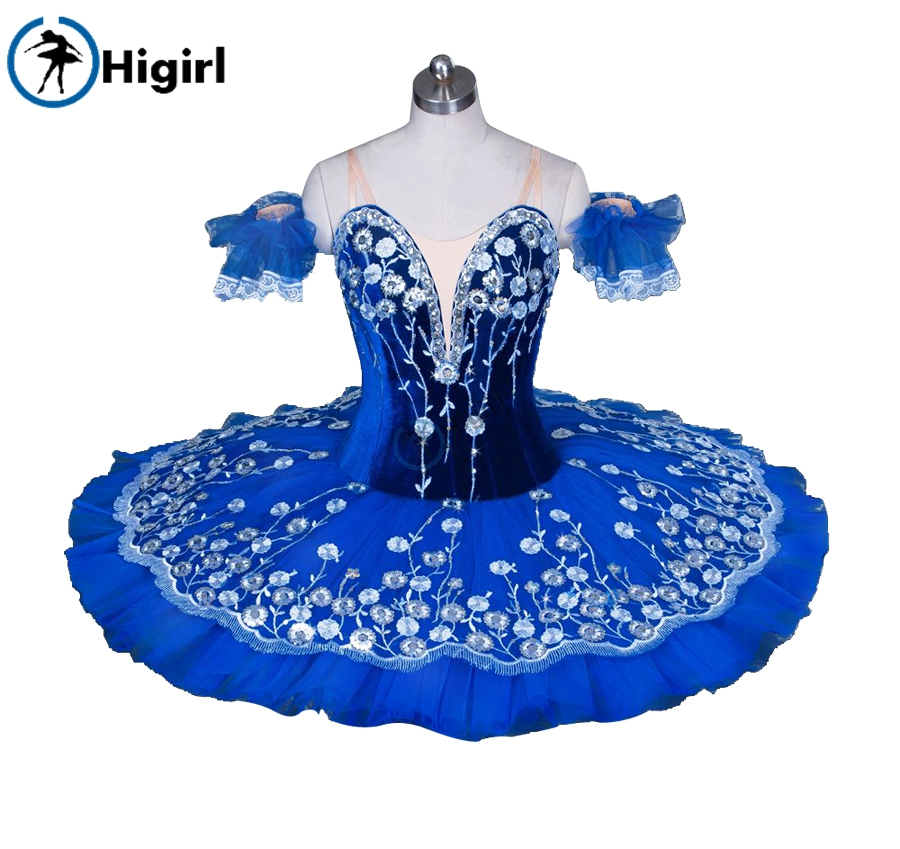 blue bird ballet tutu for girls Princess Florina professional ballet tutu adult nutcracker tutu performance tutu child BT9031