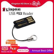 킹스톤 Usb 마이크로 SD 카드 리더 SDHC SDXC 고속 울트라 미니 휴대 전화 카드 멀티 FCR MRG2 USB TF 어댑터 카드 리더