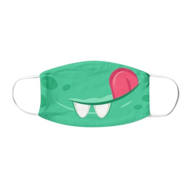 1PC Kids Children Outdoor Cotton Mouth Masks Washable Reusable Face Outdoor Desechables veilScarf Flag Bandana Drop-shipping#3 4