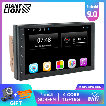 2 Din Android Car Radio 2.5D GPS Android Multimedia Player Universal 7 Audio Navigation For Volkswagen Nissan Hyundai Kia Toyota image