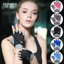 Men Women Half Finger Cycling Gym Sport Fitness Gloves Exercise Training Wrist Gloves Anti-slip Resistance Weightlifting Gloves cheap VEQSKING Weight Lifting Glove 84052