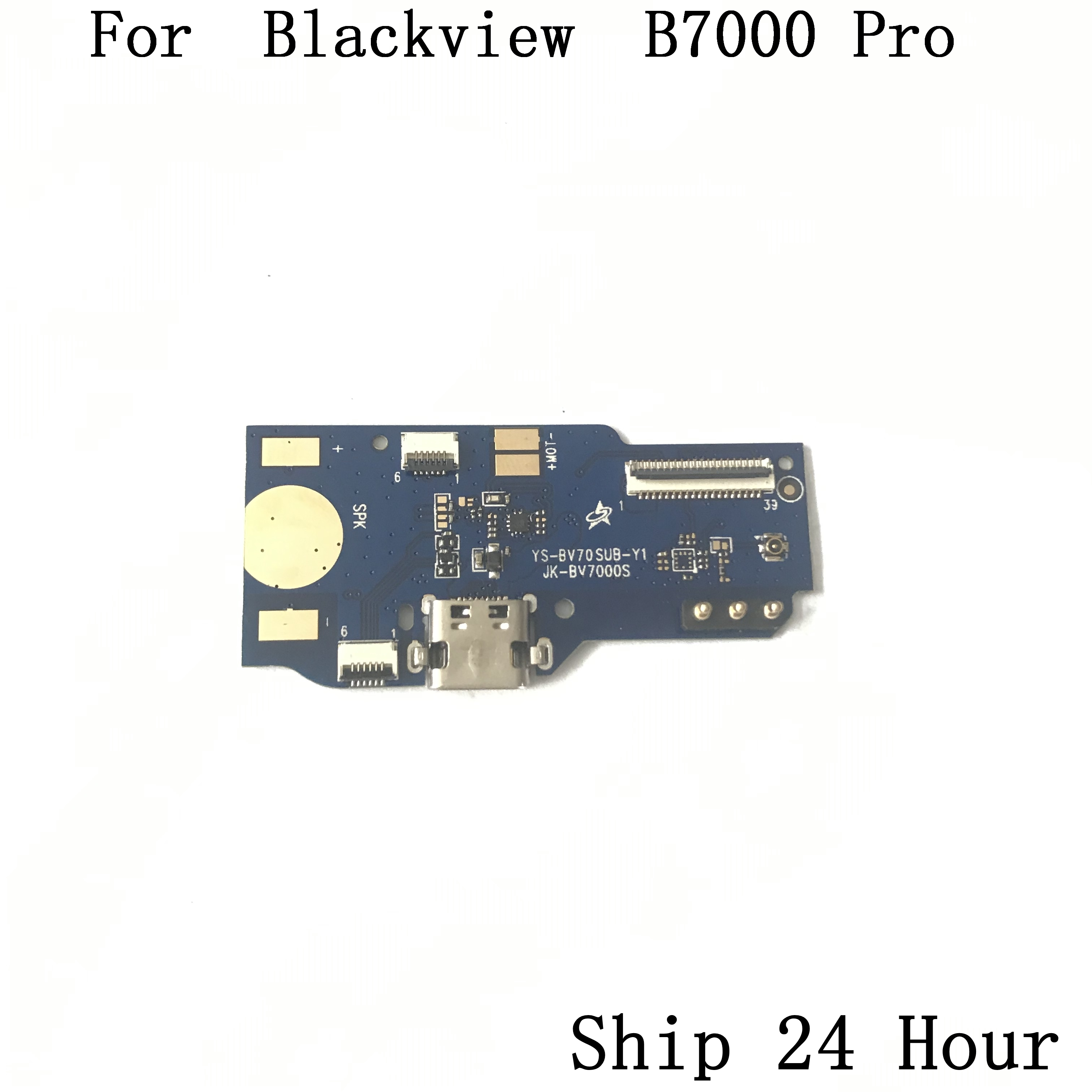 Blackview BV7000 Used USB Plug Charge Board For Blackview BV7000 Pro MTK6750 Octa Core 5.0 Inch 1920x1080 Free Shipping