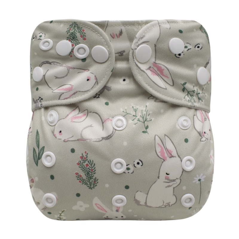 NEW Baby cloth diaper Digital printing diapers Washable Reusable Suede Cloth Pocket Diaper Cover One Size Nappy Baby Products