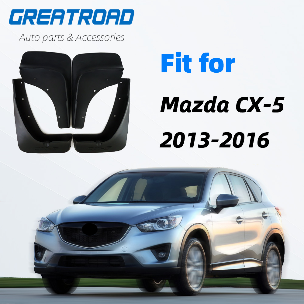 Car Mud Flaps Mudflaps Splash Guards Mud Flap Guard Mudguards Fender Protector For <font><b>Mazda</b></font> CX-5 <font><b>CX5</b></font> 2012 2013 <font><b>2014</b></font> 2015 2016 image