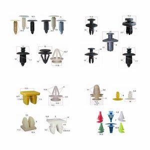 Image 4 - 500x פלסטיק מסמרות כלי ערכת אוניברסלי פגוש אטב קליפים רכב פנדר מייצבת Push פין דלת פנל בורג 5mm 6mm 7mm 8mm 10mm