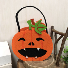 2019 1pc Sugar Carry Bags Of Cat Owl Witch Pumpkin For Halloween Decor Kindergarten Cookies Creative Style