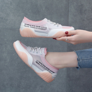 Women Casual Shoes  Summer Mesh Flat Shoes Women Fashion Snaekers Trend Breathable White Shoes Light Popular Student Women Shoes