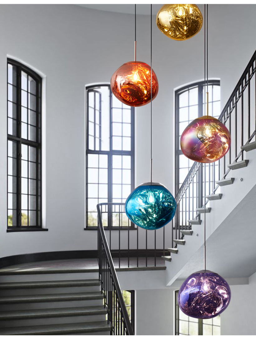 Lighting Pendant-Lamp Macaron-Deco Loft-Bar Cafe Industrial Nordic Modern Creative PVC