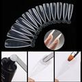 120pcs миндаля стилет быстрое строительство форма Типсы для ногтей двойной формы палец наращивание ногтей УФ гель-маникюр ногтей, для маникюр...