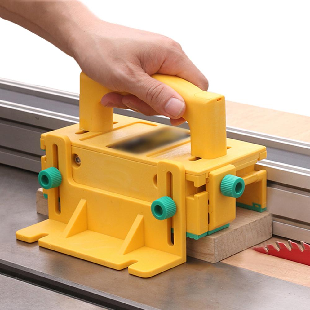 3D Safety Woodworking Pusher Vertical Milling Flip Table Saw Pushblock For Table Saw Router Table Jointer