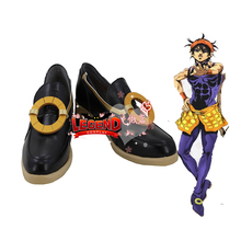 Anime JOJO JoJos Bizarre Adventure 5 Narancia Ghirga Cosplay shoes Custom made male boots