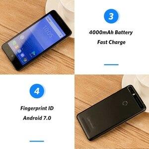 """Image 4 - LEAGOO KIICAA Power smartfon 2GB pamięci RAM, 16GB pamięci ROM 4000mAh 5.0 """"MTK6580 czterordzeniowy Android 7.0 ID odcisku palca 8.0MP telefon komórkowy 3G"""