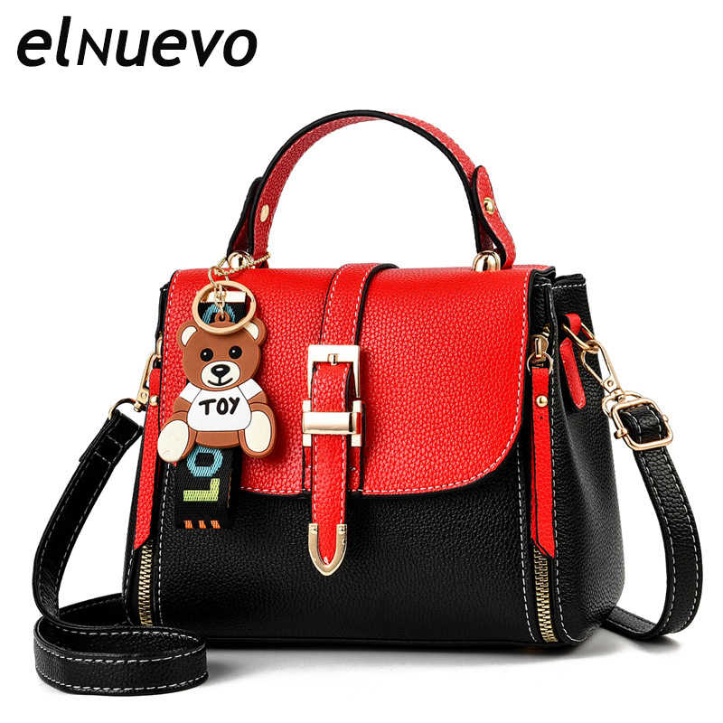 Luxury Women Messenger Bags Designer Woman Bag 2019 Brand Leather Shoulder Bags Tote Bag Women's Fashion Casual Handbag
