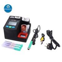 Jabe UD-1200 kurşunsuz havya istasyonu cep telefonu PCB BGA kaynak aracı 2.5S hızlı ısıtma çift kanal lehim aracı