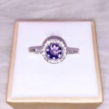 Роскошное женское маленькое регулируемое Открытое кольцо очаровательные