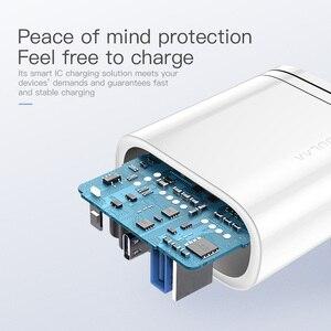 Image 3 - KUULAA adapter USB, przenośny adapter do ładowarka USB, 36 W, technologia Quick Charge 4.0, PD 3.0, USB C, tryb szybkiego ładowania, do urządzeń iPhone, Xiaomi