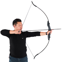 Toparchery 57inch Archery Takedown Recurve Bow For Hunting For Right/Left-Handed 30/40lbs Sports Shooting Archery Target Outdoor