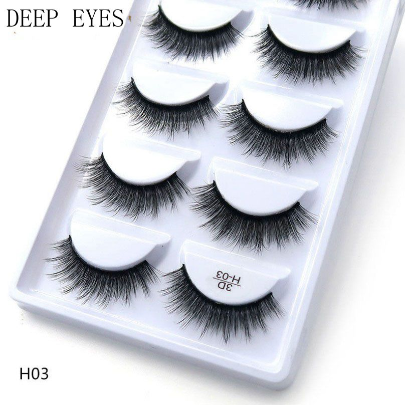 100 pairs of 20 boxes handmade 3d mink eyelashes short cross messy thick natural eyelashes stage