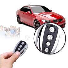 433MHz Electric Garage Door Remote Control Key Fob 4 Buttons Touch Switch Copying Transmitter Cloning Duplicator Garage Opener