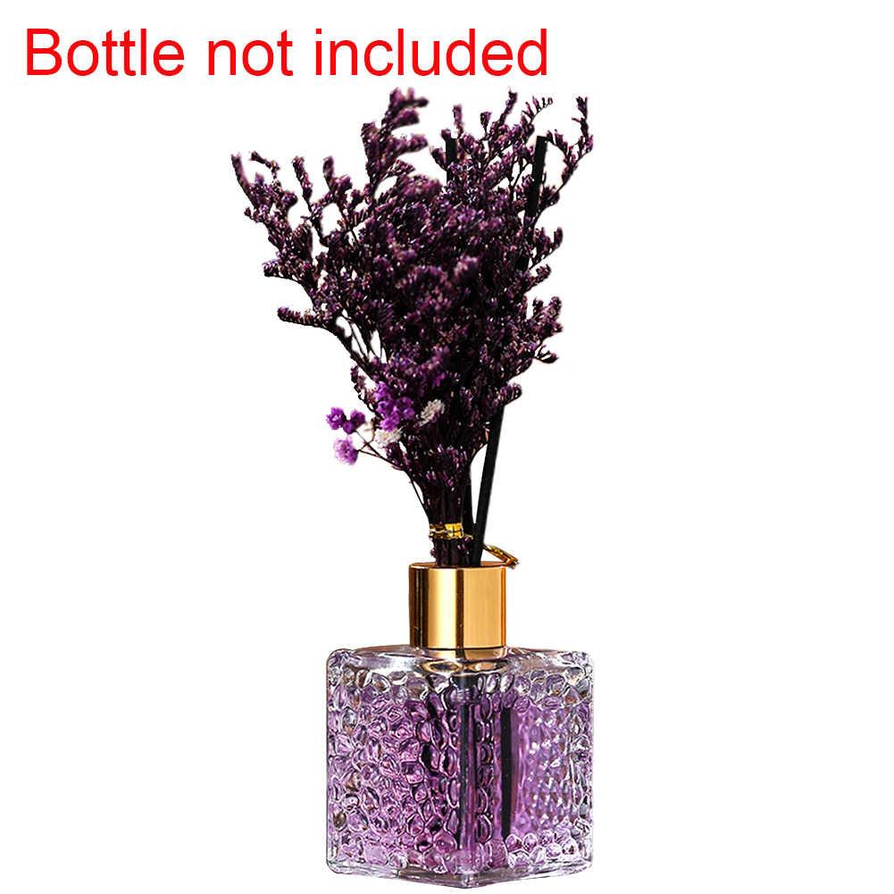น้ำหอมกลิ่นตกแต่งบ้านกลิ่นของขวัญห้องนอน Faux ดอกไม้หวาย Sticks ชุด Reed Aroma Diffuser อุปกรณ์เสริม