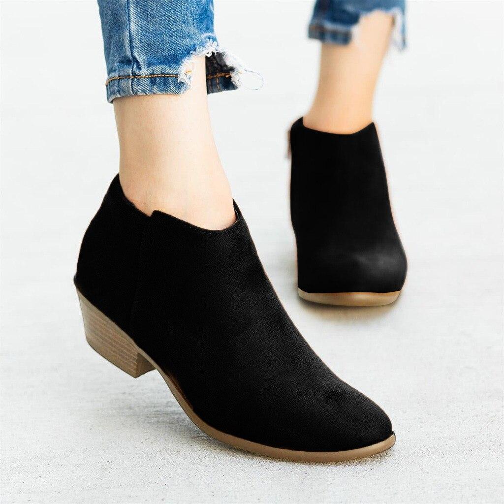 casual roma retro curto tornozelo botas para