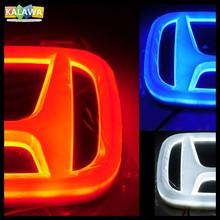 4D Avant Arrière Automobile LED Emblème Voiture Légère Badge Logo ADAPTÉ CR Ody UN ssey V IC CCORD VIC XR MN CR VIE