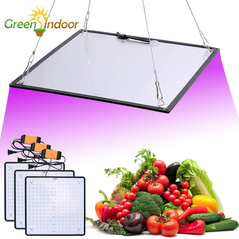 Rapture Full Spectrum Led Grow Light Phyto Lamp Ultrathin Panel For Indoor Hydroponics Plant Lamp For Growing Room Tent Flowering Growth