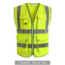 Защитный жилет Hi Vi s m ulti-Pocket светоотражающий жилет-Размер s m l