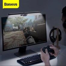 Baseus ekran ışığı LED masa lambası PC bilgisayar dizüstü asılı USB işık LCD monitör masa lambası çalışma okuma aydınlatma