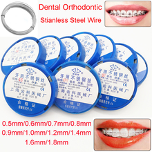 2pc Dental Orthodontic Stainless Steel Wire 0.5mm to 1.8mm Mayitr For Dentist Instruments Dentistry Material Tools