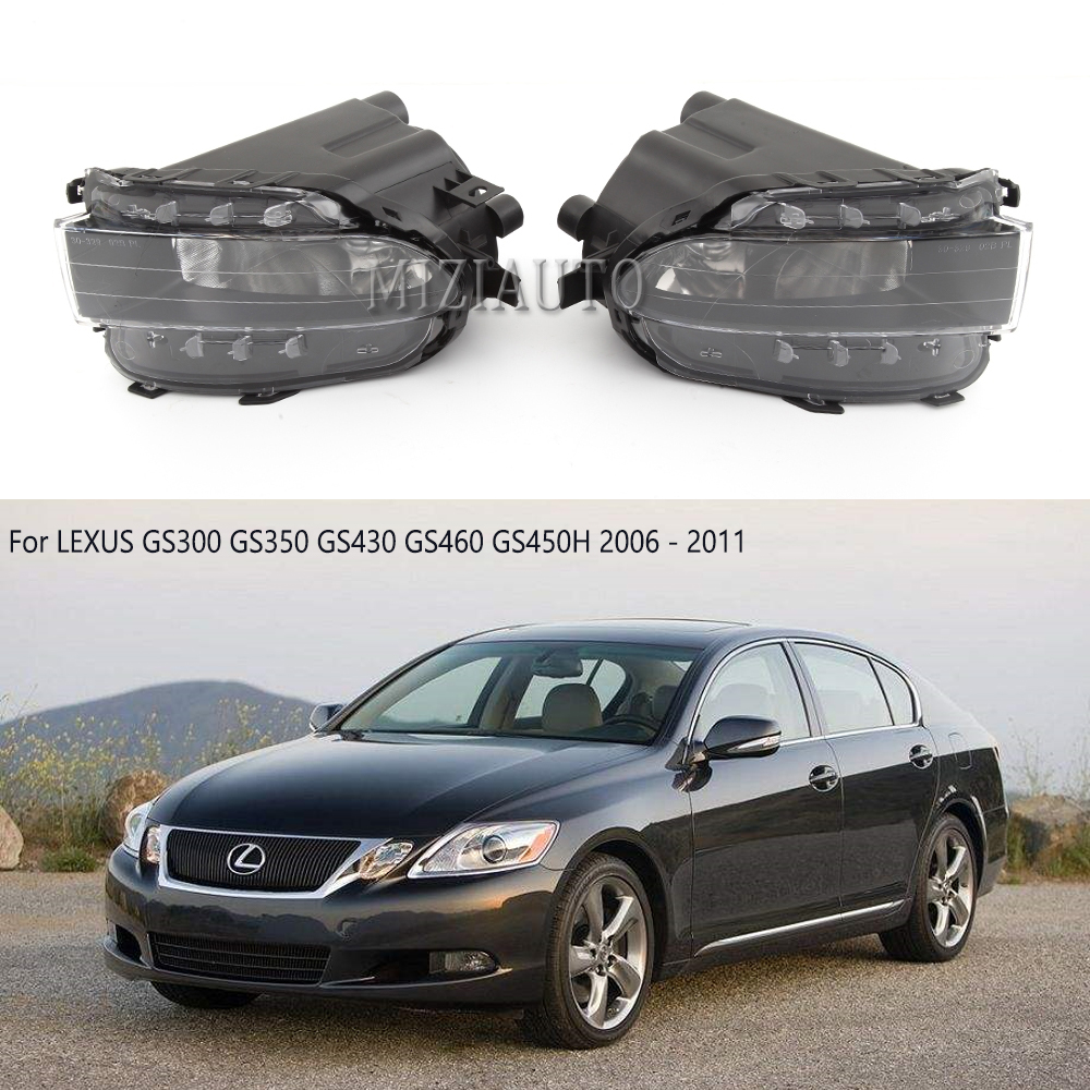 Front Bumper Fog Lamp Light For LEXUS GS300 GS350 GS430 GS460 GS450H 2006 2007 2008 2009 2010 2011 Driving Light Lamp No Blubs