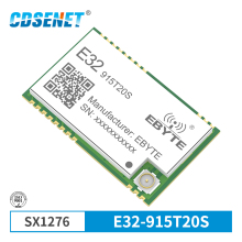 SX1276 915 МГц 100 мВт SMD беспроводной модуль приемопередатчика E32-915T20S 915 МГц ttl 2000 м передатчик дальнего действия SX1278 SMD приемник