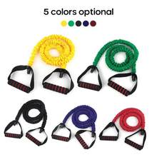 5 Levels Fitness Resistance Bands Gym Equipment Elastic Bands For Yoga Pull Rope Fitness Workout Home Excerciser Training Bands(China)