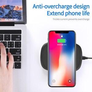 Image 3 - Joyroom cargador rápido inalámbrico para móvil, cargador de teléfono inalámbrico de 5W para QC 3,0, para iPhone 11 X XR XS Max Samsung S10 S9 Note 10 Xiaomi Mi 9
