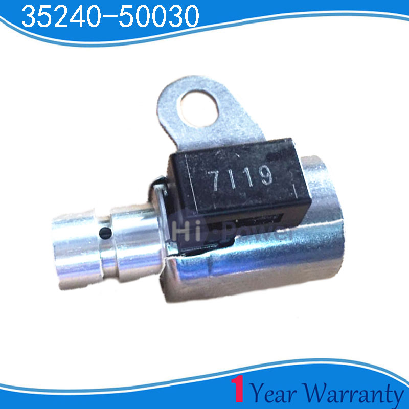 OEM 35240-50030 Transmission Solenoid Valve For TOYOTA Lexu Solenoid 3524050030 35240 50030
