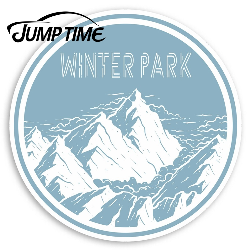 Время прыжка зима парк Америка виниловые наклейки-наклейка