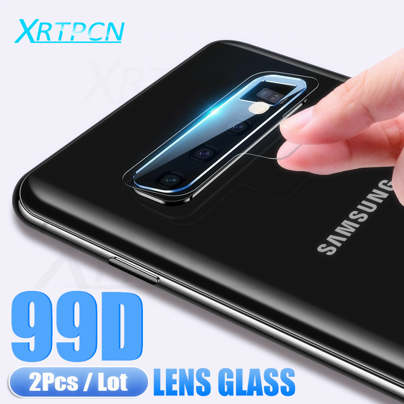 99D Camera Lens Protector Glass On The For Samsung Galaxy Note 8 9 S7 Edge S8 S9 S10 Plus S10E Tempered Glass Protective Film