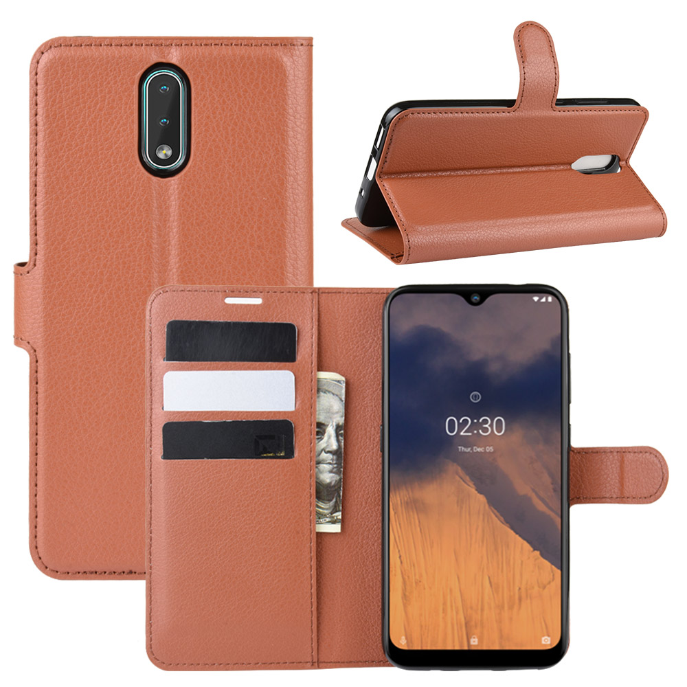 For Nokia 2.3 Case Cover Wallet Leather Flip Leather Phone Case For Nokia 2.3 High Quality Stand Cover For Nokia 2.3