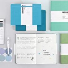 Novo a5 bala cadernos caderno de 188 páginas 100gsm 5.7x8.2 retro diário atadura doces cor diário caderno agenda