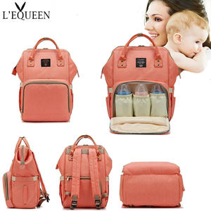Bag Nappy-Bag Travel-Backpack Baby-Care Large-Capacity Mummy Fashion Women