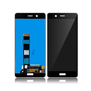 "Image 2 - شاشة رقمية لهاتف نوكيا 5 N5 TA 1024 TA 1027 TA 1044 TA 1053 5.2 ""LCD تعمل باللمس مع مجموعة محول رقمي لاستبدال شاشات الكريستال السائل Nokia5"