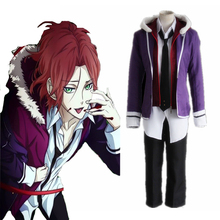Anime Diabolik Lovers Cosplay Costumes Laito Sakamaki Cosplay Costume Vampire Uniforms Halloween Carnival Party Cosplay Costumes
