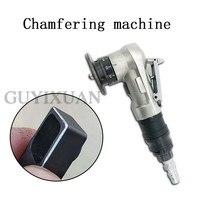 Mini handheld máquina de chanfradura pneumática pequena chanfradura do furo interno portátil máquina de corte de metal de 45 graus Machine Centre     -