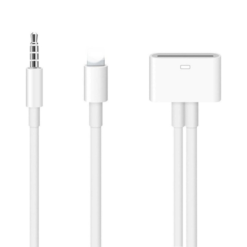 8 <font><b>Pin</b></font> zu <font><b>30</b></font> Audio Adapter Musik Konverter Für iPhone 5 6/6 Plus 7 <font><b>Dock</b></font> Kabel image